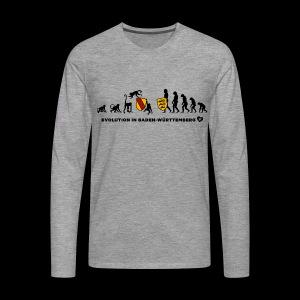 Evolution - Kerle - Männer Premium Langarmshirt