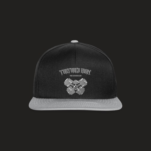 LOGO FLAT CAP - Snapback Cap