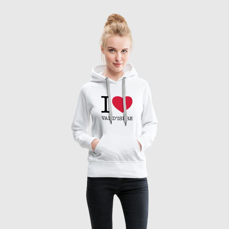 VAL D'ISERE Sweat-shirts - Sweat-shirt à capuche Premium pour femmes