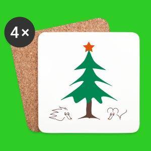 Untersetzer Weihnachten - Untersetzer (4er-Set)