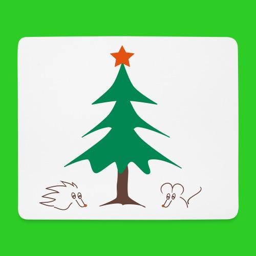 weihnachtliches Mauspad / Mousepad - Mousepad (Querformat)