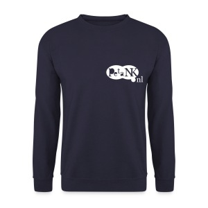 Sweatshirt voor heren met wit opdruk - Mannen sweater