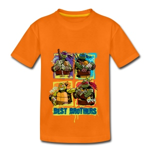 Kids Premium Shirt TURTLES 'Best Brothers' - Kinder Premium T-Shirt