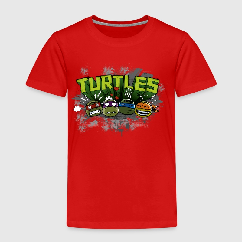 Kids Premium Shirt 'TURTLES' - Kinder Premium T-Shirt