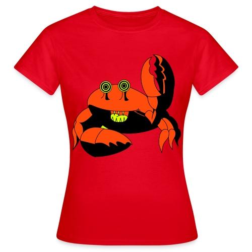 Crab-T-shirt - Frauen T-Shirt