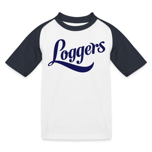 Loggers T-skjorte - Baseball-T-skjorte for barn