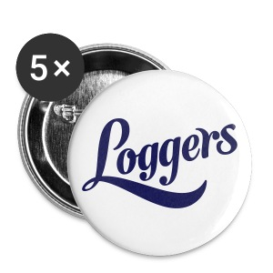 Loggers Button - Stor pin 56 mm