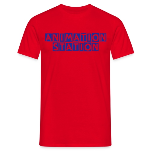 Animation Station t-shirt - Men's T-Shirt
