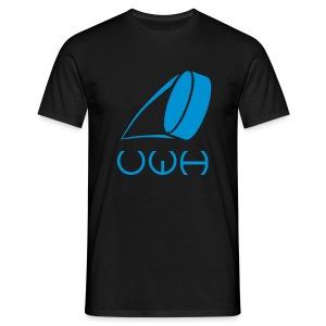 UWH Logo. Mens T-Shirt - (LogoBlue - frt/lg) - Men's T-Shirt