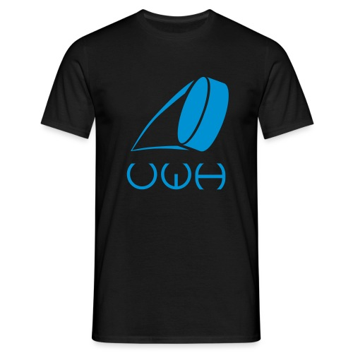 UWH Logo. Mens T-Shirt - (LogoBlue - frt/lg) - Men's T-Shirt