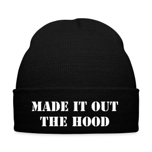 Winter Cap (MADE IT OUT THE HOOD) - Winter Hat