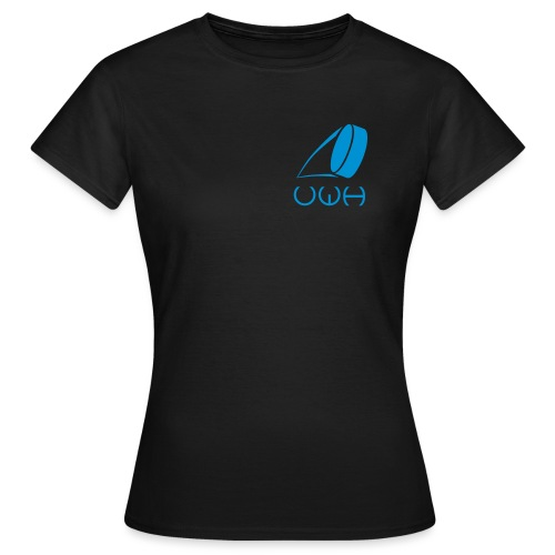 UWH Logo. Womens T-Shirt - (LogoBlue - frt/sm) - Women's T-Shirt