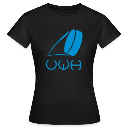 UWH Logo. Womens T-Shirt - (LogoBlue - frt/lg) - Women's T-Shirt
