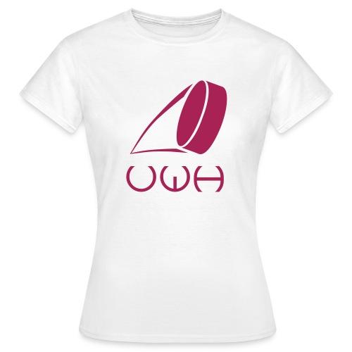 UWH Logo. Womens T-Shirt - (LogoPink - frt/lg) - Women's T-Shirt