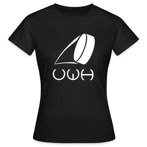 UWH Logo. Womens T-Shirt - (LogoWhite - frt/lg) - Women's T-Shirt
