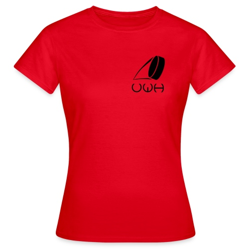 UWH Logo. Womens T-Shirt - (LogoBlack - frt/sm) - Women's T-Shirt