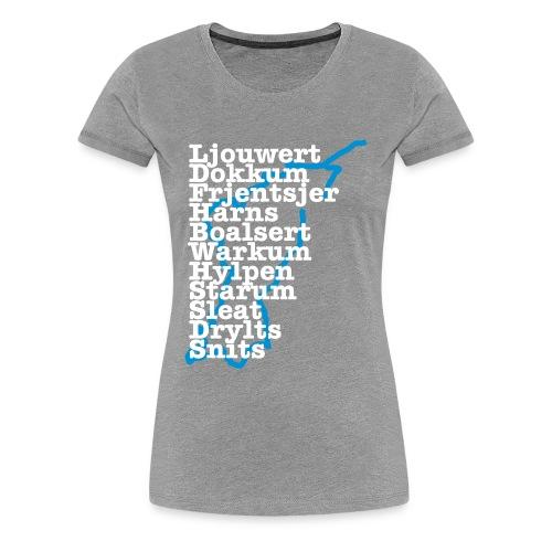 Elfstedenkoorts - Vrouwen Premium T-shirt