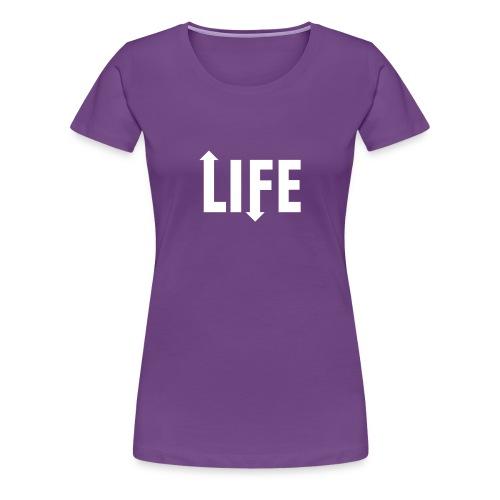 Ups and downs - Vrouwen Premium T-shirt