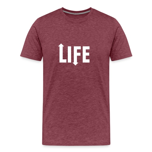 Ups and downs - Mannen Premium T-shirt