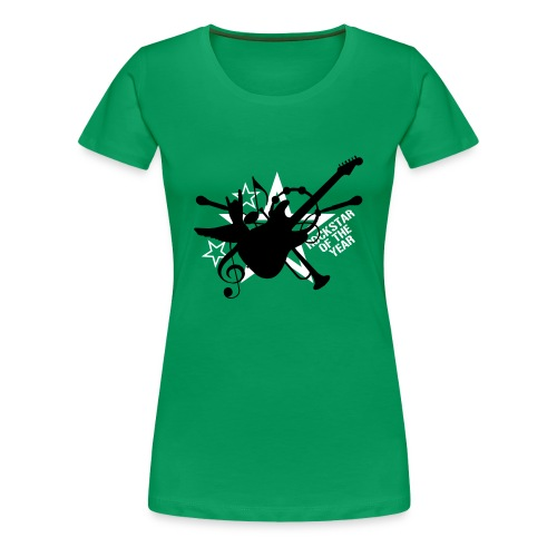 Rockstar of the year - Vrouwen Premium T-shirt