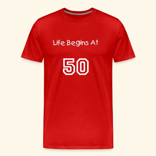 Life Begins - Men's Premium T-Shirt