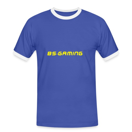 BS.Gaming Retro Shirt 100% Baumwolle - Männer Kontrast-T-Shirt