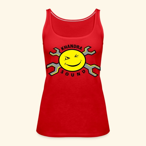 Khandra Sound New Shoulder-Free Tank Top - Women's Premium Tank Top