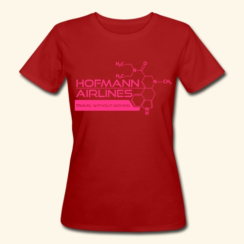 Hofmann Airlaines Women's T-shirt with rolled up sleeves - Women's Organic T-shirt