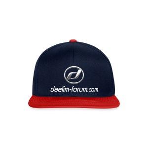 Basecap mit  Daelim Logo und Forum URL - Snapback Cap