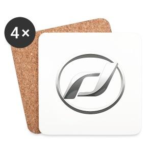 Untersetzer mit Daelim Logo - Untersetzer (4er-Set)