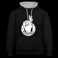 Pullover & Hoodies ~ Kontrast-Kapuzenpullover ~ Besser Isses Hoodie