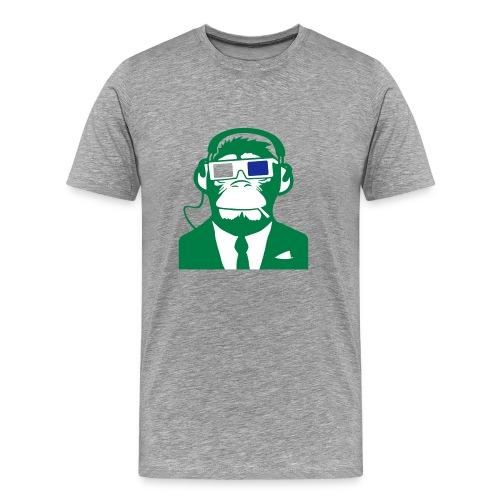 Monkey Man - Premium T-skjorte for menn