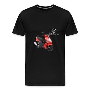 Daelim Otello Sport auf TShirt (mit Logo und Forum-URL) - Männer Premium T-Shirt