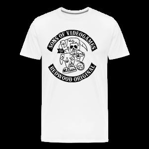 Sons of Videogames white - Männer Premium T-Shirt