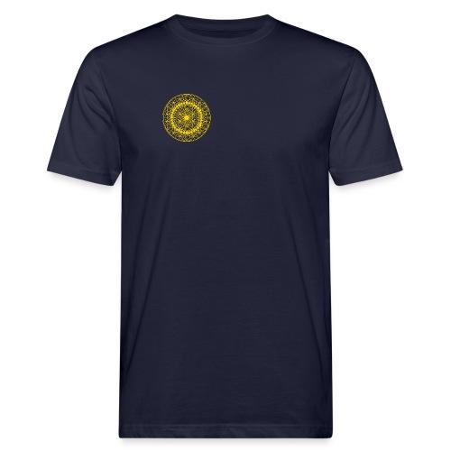 Tolles Männer Shirt mit Symbol vorne und hinten groß! - Männer Bio-T-Shirt