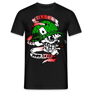TEE SHIRT SOLDIER OF HARDCORE - T-shirt Homme