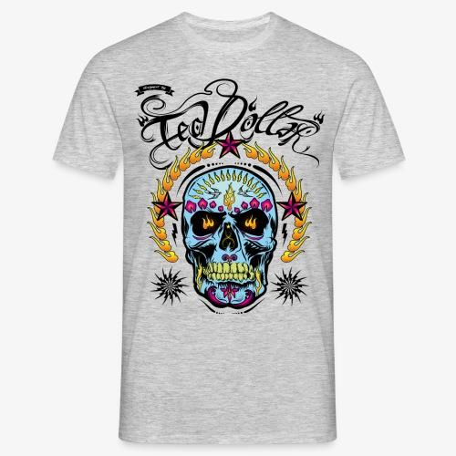Camiseta Ted Dólar Skull - Camiseta hombre