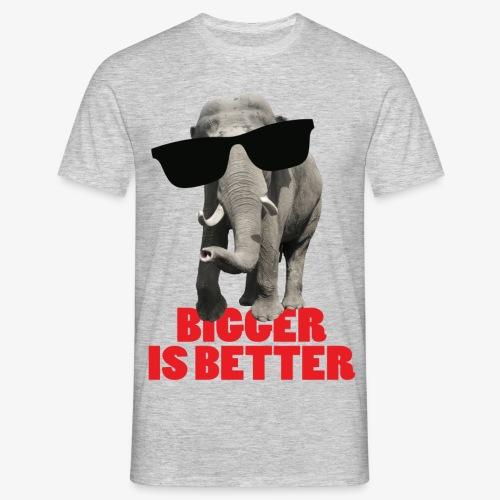 Camiseta hombre - Camiseta de corte clásico para hombres, 100% algodón, marca: B&C.