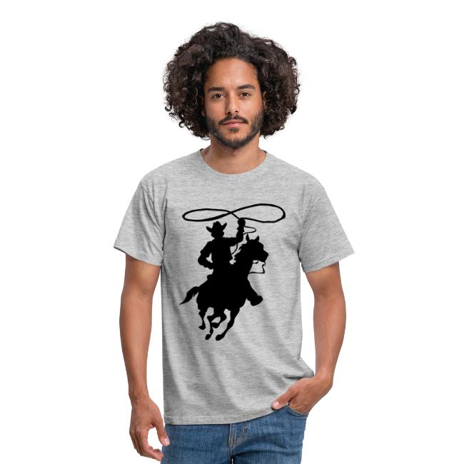 fc745d656941d Hombre-Camiseta  Cowboy con ...
