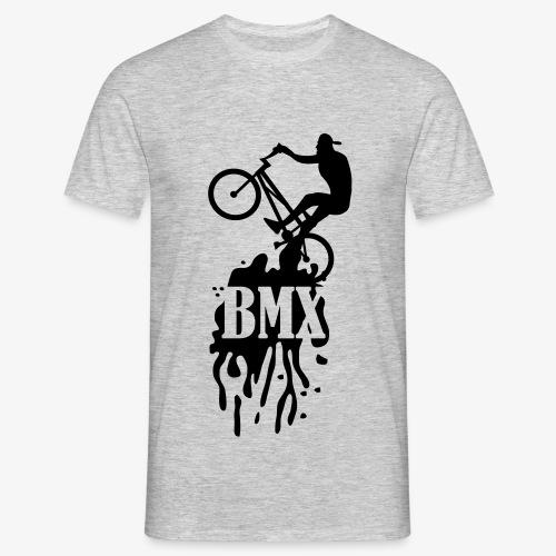 bmx klecks-Camiseta hombre - Camiseta hombre