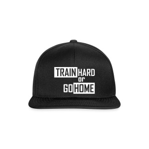 SKR cap train hard or go home - Snapback Cap