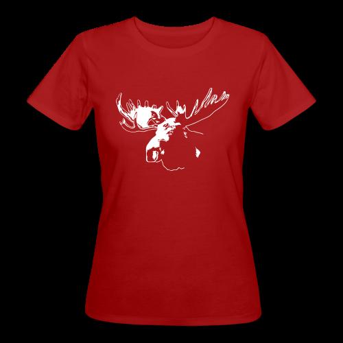 Elch - Moose - Frauen Bio-T-Shirt