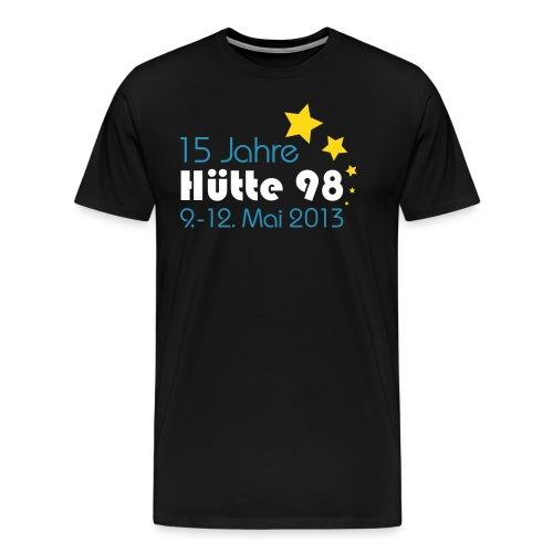 15 Jahre Hütte 98 Spreadsheet men 14 - Männer Premium T-Shirt