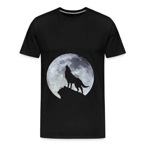 T-shirt homme loup  - T-shirt Premium Homme