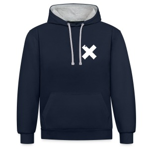 Flatlife ProTechno Hoody - 3 Colours - Contrast Colour Hoodie