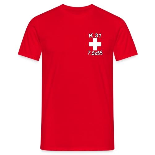 Thomas K31 mit Kontur - Männer T-Shirt