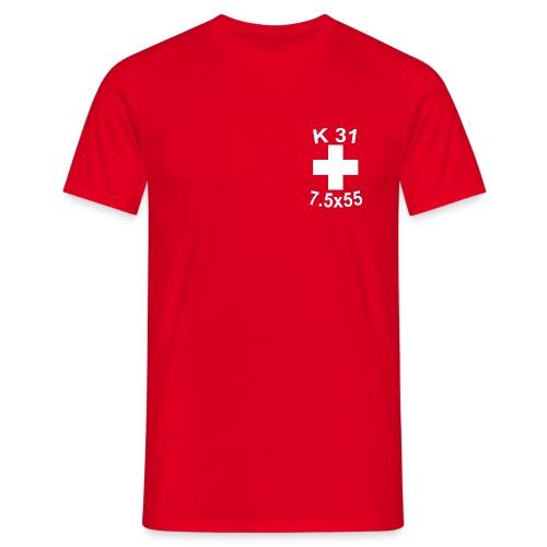 Thomas K31 ohne Kontur - Männer T-Shirt