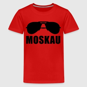 Cool Moscow sunglasses T-Shirts - Teenager Premium T-Shirt