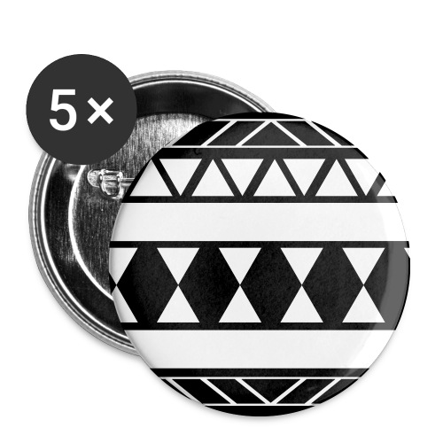 HIPSTER - BADGE - Buttons/Badges mellemstor, 32 mm (5-pack)