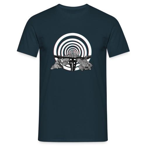 Hypnotising rocky trail - T-shirt Homme